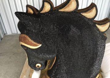 Nueve millones en cocaína ocultos en una cabeza de caballo con diamantes