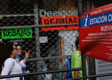 Afectados por el cierre de la Línea 1 de metro