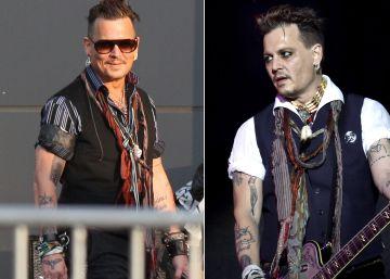 Johnny Depp borra en su cuerpo los tatuajes sobre Amber Heard