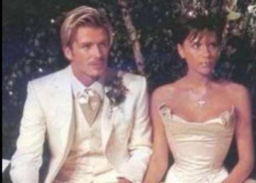 Así se han felicitado los Beckham su aniversario