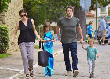 Ben Affleck y Jennifer Garner pasan el 4 de julio con sus hijos