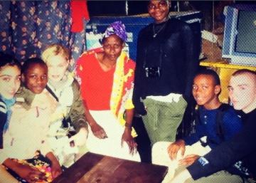 Madonna y Rocco, juntos en Kenia