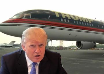 ¿Grifos de oro en un avión? Air Force One versus Trump Force One
