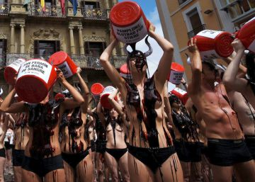 Un baño de sangre contra los Sanfermines