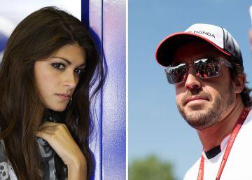 Fernando Alonso sale con la ex de Valentino Rossi