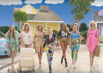 Para vender música: vídeo con famosos