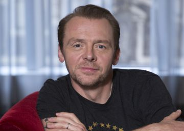 Simon Pegg, el fan que llegó a 'Star Wars'