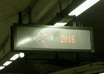 Los 'Cazafantasmas' llegan al Metro de Madrid