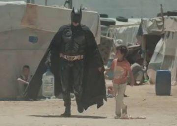 Los niños refugiados también sueñan con Batman
