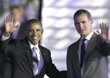 Obama vuelve a Washington tras una visita para reforzar los lazos con España