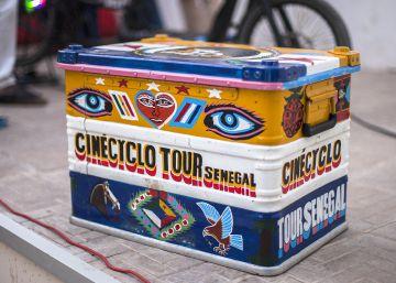 Cinécyclo, cine ambulante a pedales