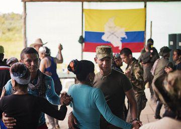 El día a día en un campamento de las FARC
