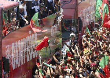 Portugal prueba el elixir de la victoria