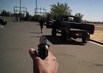 La cámara de un agente graba otro posible abuso policial en EEUU
