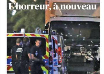 Las portadas internacionales tras el atentado de Niza