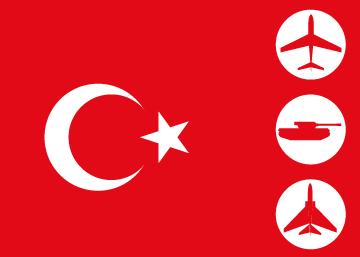 Sublevación de sectores del Ejército turco