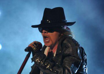 Los integrantes de Guns N' Roses, detenidos por posesión de armas
