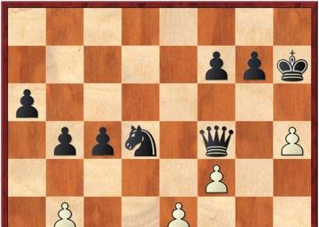 Carlsen no gana a Giri