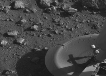 Esta fue la primera foto que se tomó en Marte hoy hace 40 años