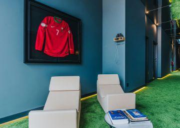 Así es por dentro el nuevo hotel de Cristiano Ronaldo