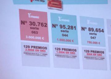 El primer premio del sorteo de Oro de la Cruz Roja ha correspondido al 30.762