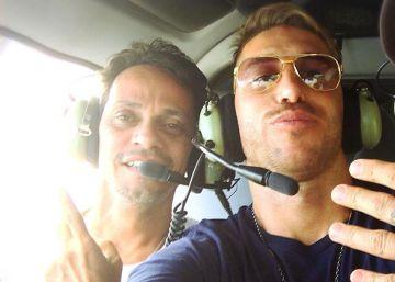 Sergio Ramos, de vacaciones con Marc Anthony