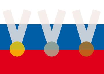 77 medallas rusas entre Atlanta 1996 y Londres 2012