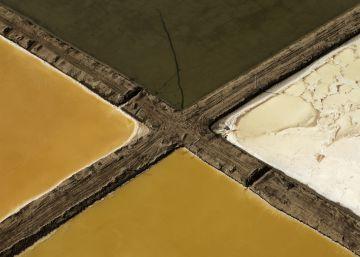 El desierto de Gobi, desde el aire