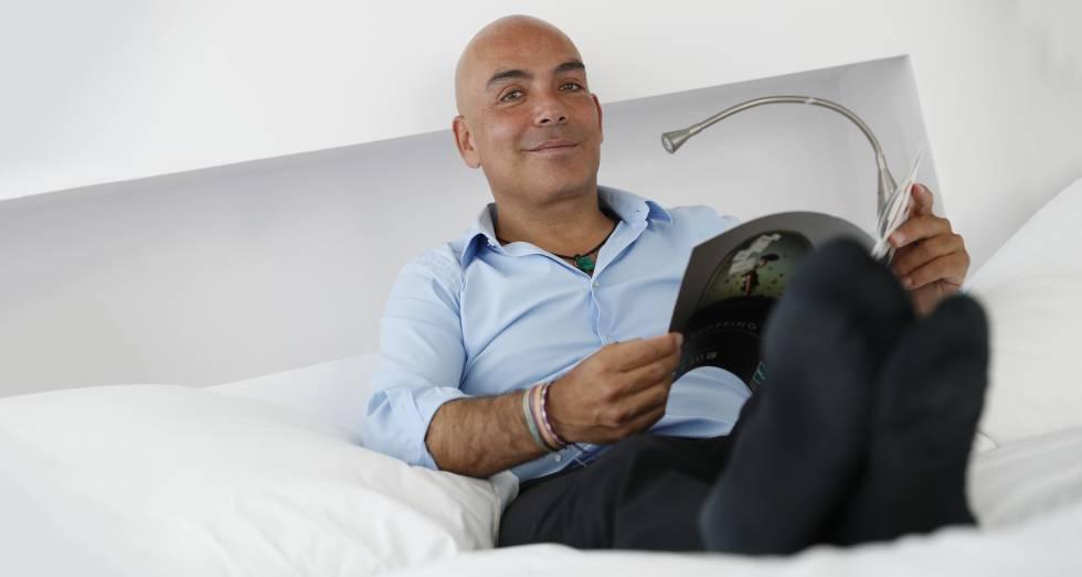 Kike Sarasola, fundador y presidente de Room Mate Hotels, el pasado miércoles en Madrid.