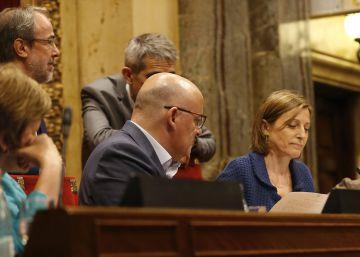 Forcadell se ampara en la libertad de expresión ante el Constitucional