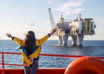 Crucero a la plataforma petrolífera