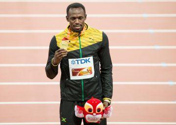 A su lado, Usain Bolt no tiene mérito