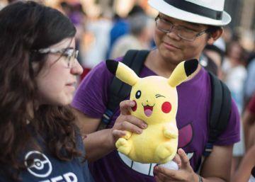 Cazadores de Pokemon Go en Madrid