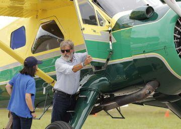 Así es volar con Harrison Ford