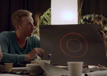 Los integrantes de Coldplay dibujan sus propios 'mojis' para Skype