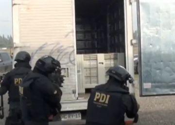 Espectacular operación contra el narcotráfico en Chile
