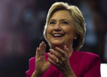 La candidata demócrata a la presidencia de EE UU, Hillary Clinton.