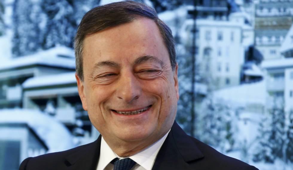 Mario Draghi, presidente del BCE