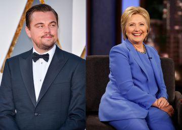 30.000 euros por acudir a la fiesta de DiCaprio en favor de Hillary Clinton