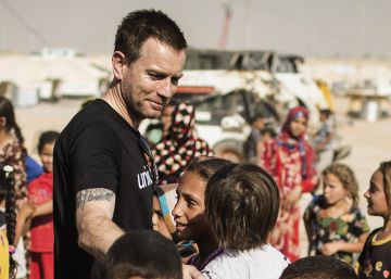 """Ewan McGregor: """"Los niños en Irak corren riesgo de muerte y abuso sexual"""""""