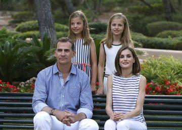 Los Reyes posan en Mallorca
