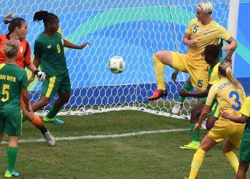 Así fue el primer gol de los Juegos de Río