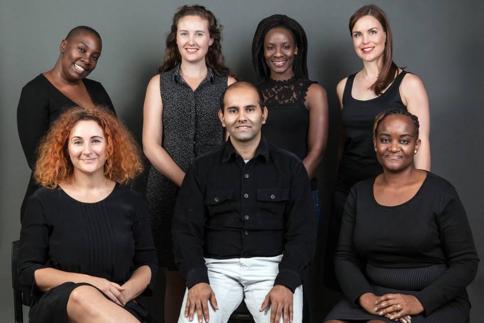 Equipo de AfricaCheck.