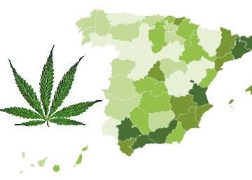Tráfico de marihuana por provincias