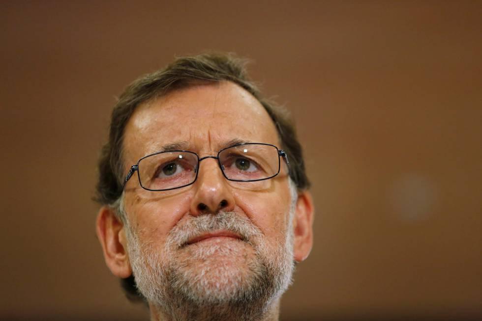 El presidente en funciones Mariano Rajoy.