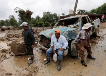 Los daños causados por Earl a su paso por México