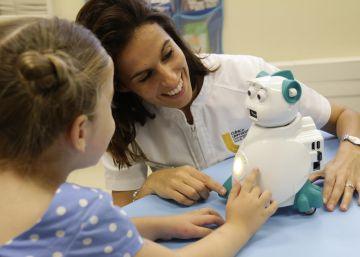 Los robots que aman a los niños con autismo