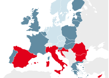 Los 'ninis' en la Unión Europea