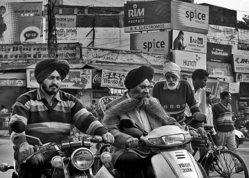 Tráfico en India, peligro de muerte