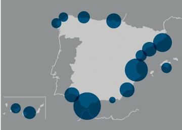 Actividad portuaria en España